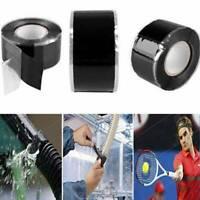 Self Fusing Wire Waterproof Silicone Rubber Bonding Rescue Repair Tape 2.5*150cm