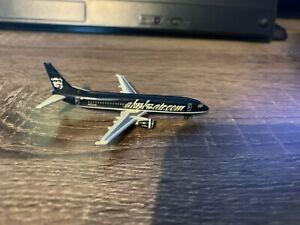 "Herpa 1:500 Alaska Airlines 737-400 ""Alaska.com"" livery NG"