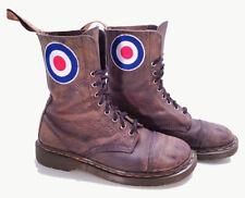 Dr. Martens Doc England Rare Vintage Customized Aztec Leather Boots UK 7 US 8