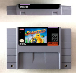 Sparkster 16 Bit Game Cartridge For SNES English US Version