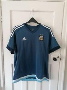 Argentina 2015 Away Football Shirt Adidas Climacool Size XL
