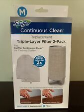 Swiffer Continuous Clean Replacement Triple-Layer Filter 2-Pack