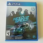 Need for Speed (SONY PlayStation 4, 2015) PS4