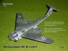 Messerschmitt Me p.1107/i 1/72 resinbausatz Bird models nuevo