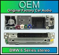 BMW 6 Series Sat Nav CD player, BMW F12 F13 navigation, DAB radio, CI 6822093 01