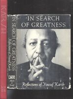RARE 1962 YOUSUF KARSH PHOTOGRAPHY & AUTOBIOGRAPHY FIRST EDITIONS 2 BOOKS DJ