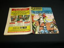 Classics Illustrated: #27 ADVENTURES OF Marco Polo (3rd ed.) HRN70 4/46 FINE