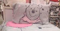 Disney Winnie the Pooh Single Double Duvet Cover Bed Set Blanket Primark Bedding