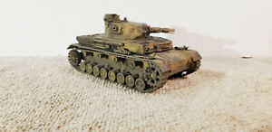 BUILT 1/48 GERMAN PANZER IV  WW 2 TANK PROFESSIONALLY BUILT