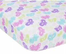 Miracle Ware Butterflies Crib Sheet Muslin Fitted Sheet Baby Bed-Toddler Bed