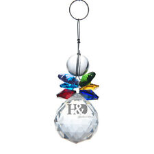 Colorful Crystal Suncatcher Feng Shui Prisms Pendant Hanging Drop Home Decor