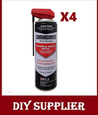 4 Chaindrite Crawling Insect Spray - cockroach spider ants fleas Silverfish moth