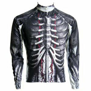 """Franklin Cycling Jersey / 'HUMAN' / UK size M (38-39""""chest) / Long sleeve"""