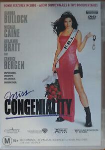 Miss Congeniality (DVD, 2001)