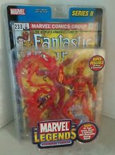 Human Torch Marvel Legends Series 2 (2002) ToyBiz