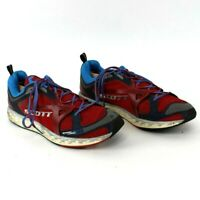 Scott Ride Aero Foam Men's 12.5 Athletic Trail running Shoes Walking Red Blue