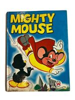 Mighty Mouse Vintage Book 1953 Childrens Book