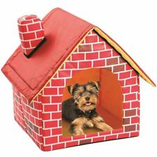 Foldable Dog House Pet Bed Tent Cat Kennel Indoor Portable Travel Puppy Mat Cave