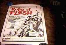 ROPE OF FLESH AKA MUDHONEY  ORIG MOVIE POSTER 1965 RUSS MEYER CLASSIC LINEN