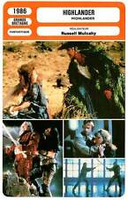 FICHE CINEMA : HIGHLANDER - Lambert,Mulcahy 1986