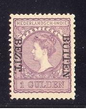 Ned. Indie nr 97f  1 gulden bezit-buiten ongebr. luxe