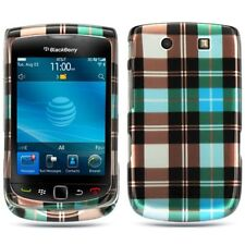 Blue Checker Hard Case Cover for BlackBerry Torch 9800