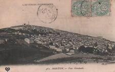 CPA 63 MONTON VUE GENERALE 1907