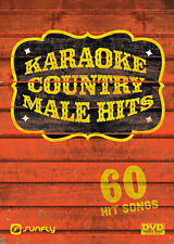 MALE COUNTRY HITS  SUNFLY KARAOKE DVD - 60 HIT SONGS