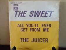 "7"" The Sweet ‎– All You'll Ever Get From Me - EX/EX - PARLOPHONE 4C 006-91415 M"