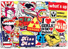 100Pcs Sticker Bomb Random Vinyl Graffiti Decal For Car Skate Skateboard Luggage