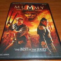 The Mummy: Tomb of the Dragon Emperor (DVD,Full Screen 2008)