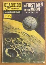 Classics Illustrated The First Men In The Moon No.144, Comic Book 1958