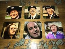 On the Buses TV Show Cast Reg Varney 6 COASTER Set