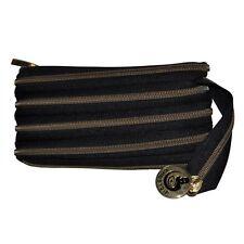 Handtasche Abendtasche Clutch Tasche Reißverschluss Farbe Bronze