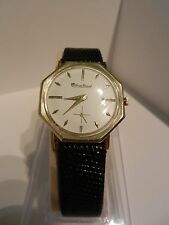 Lucien Piccard 14k Solid Gold Watch nella custodia originale