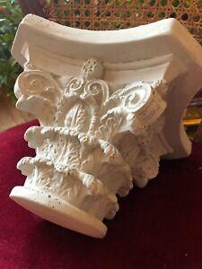 Stucco -wunderschönes Kapitell für 10 cm Säulendurchmesser - Säule aus Beton