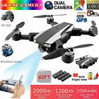 6K Drone S105 GPS 5G Wifi 4K HD Dual Camera Brushless Motor Drone Distance 1.2km