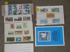Sweden- 2 Post Office Packets 1970`s-80`s, Vehicles & Engineering + Booklet