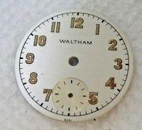 WW2 Waltham Military Watch Dial,100%Original