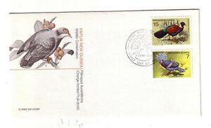 Papua New Guinea 1st Day Scott# 466, 467 Birds - Fleetwood  #ox