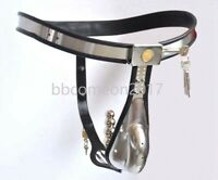 Full Male Chastity Belt Device Stainless Steel Heavy Duty Cage Plug Device BDSM