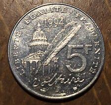 PIECE DE 5 FRANCS VOLTAIRE 1994 COMMÉMORATIVE (205)