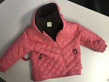 Babystyle 3T Girls Coat Jacket Pink