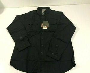 5.11 TACTICAL EXPEDITION LONG SLEEVE SHIRT 72466 BLACK ASH MEDIUM