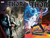 Marvel Comics 2020 Thor 9 Coipel Main + Hildebrandt Variant NM 11/4
