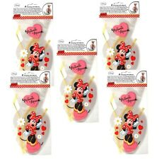 30 Disney Minnie Mouse  Party Bags with Ribbon Tie- Favors - Birthday - Gift