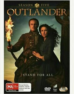 OUTLANDER Season 5 (2020) BRAND NEW Region 4 DVD 4 Disc Set SEALED R4