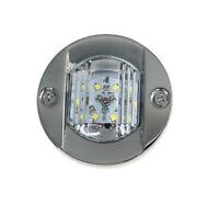 "Pactrade Marine 4PCS Stainless Steel LED Navigation Light 3"" Transom Mount Lamp"