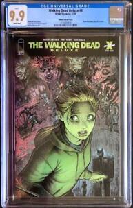 Image Comics Walking Dead Deluxe #4 Arthur Adams Variant Cover CGC 9.9 MINT