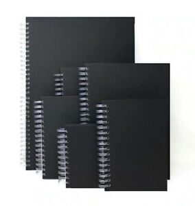 Spiral Sketchbooks 170gsm (pack of 3) A5 A4 A3 & Square NON-MINT 40% DISCOUNT